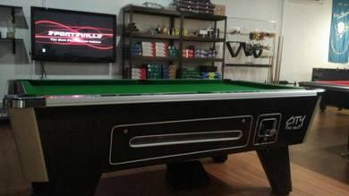 British Pool Table Strachan 6811 Carpet & Aramith