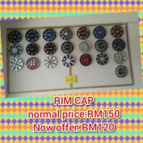 X3-3 rim cap 13 inci atau 14 inci