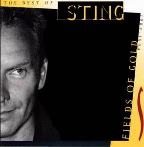 IMPORTED CD STING Fields Of Gold 1984-1994