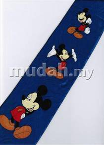 Mickey Mouse Disney 3 Pose Handsome BLUE Neck Tie