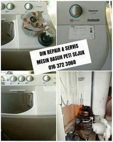 Perkhidmatan repair dan servis mesin basuh peti se