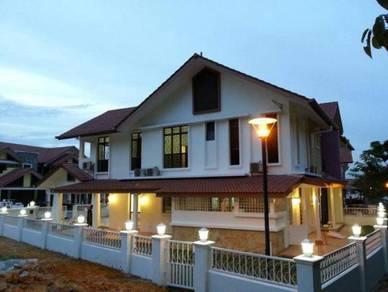 Semi D Corner Lot Renovated at Precint 15, Near Alamanda, IOI, Nadi 15