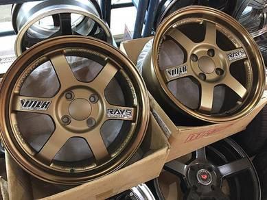 Sport Rim Rays TE37 Thailand Design Ori Bronze NEW