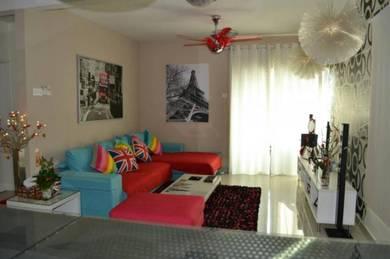 Alam Puri Condominium Near KTM Jalan Ipoh Fully Furnished