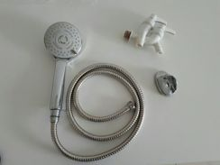 Shower head (with free dubbled tap)