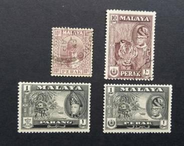 Malaya old stamps BK805