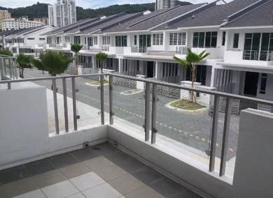 Dua Villas semi D bayan lepas gated guarded near Airport