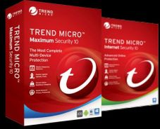 Trend Micro Maximum and Internet Security NEW