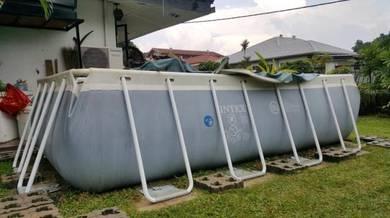 Swimming Pool above ground 4 x 2 x 1m INTEX