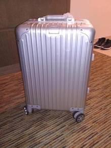 Aluminium luggage suitcase cabin bag