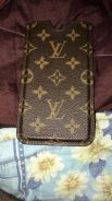 Louis vuitton leather case for iphone 6plus/7plus