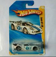 Hotwheels Ford GT LM White