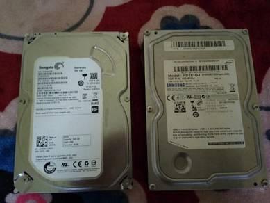Desktop Hard Disk Sata 650gb