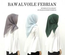 Tudung Bawal Voile Febrian