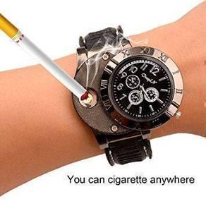 Jam Lighter Bergaya Utk Perokok Cigarette Lighter