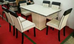 Dining Table 1+6 Marble