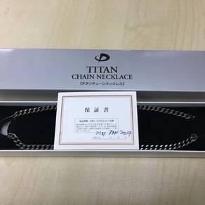 Phiten Titan Chain Necklace