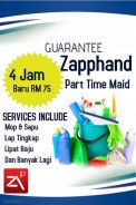 Cleaning | Pindah | Potong Rumput | Part time Maid