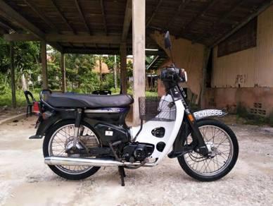 Honda c70 standard enjin senyap