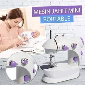 Mini Portable Mesin Jahit 2 In 1 Utk Surirumah Kdh