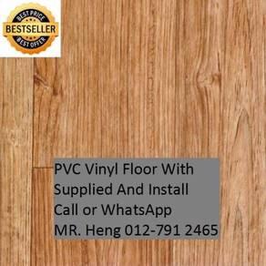 Quality PVC Vinyl Floor - With Install vt66yu