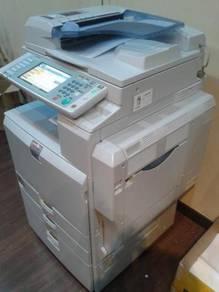 Mesin fotostat color ricoh MPC2800 copy print scan