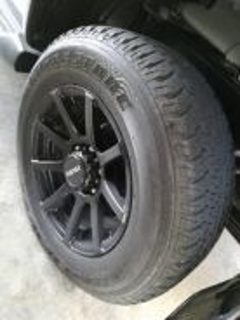 Bridgestone H/T tyres 17inch