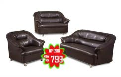 2+3+1 seater pu sofa (M-66-28 )25/06