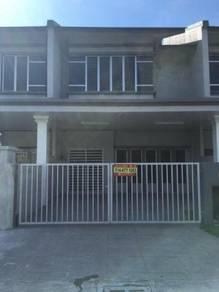 Double storey house for rent,Sri bunut Banting
