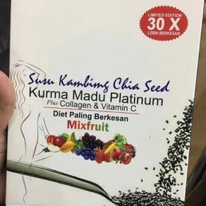 Kopi susu kambing chia seed kurma madu platinum