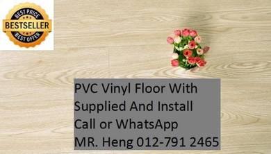 Quality PVC Vinyl Floor - With Install vg67u