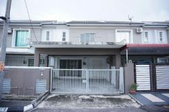 For sale double storey terrace at taman sungai dua utama