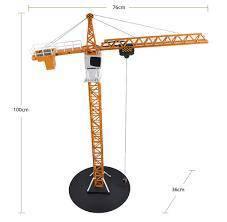 Rc tower crane d.ee