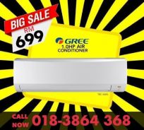 Brand New Aircond GREE/HAIER 699, SHARP 799 only