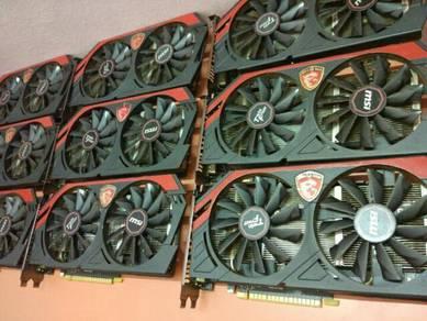 MSI Gtx750 1gb ddr5 Twin frozr