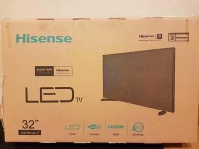 Tv Hisense 32 inch led flat