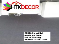New plain carpet roll with install 22bq