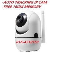 Auto tracking ccty, ip cam, wifi cam