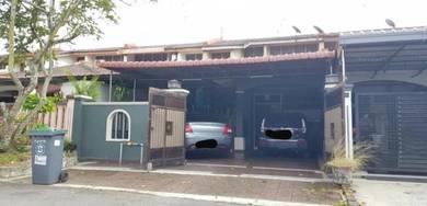 Taman Perling (Skudai) Single storey terrace house For sale