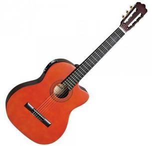 Ashton CG44CEQ Classic Guitar w/ Pickup