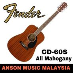 Fender CD-60S Dreadnought , All Mahogany