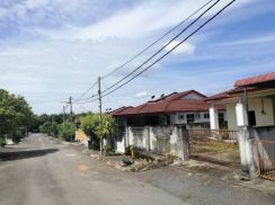 Rumah Berkembar 1 Tingkat di Taman Permai Bistari Bedong