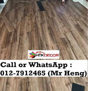 Natural Wood PVC Vinyl Floor - With Install 30BD