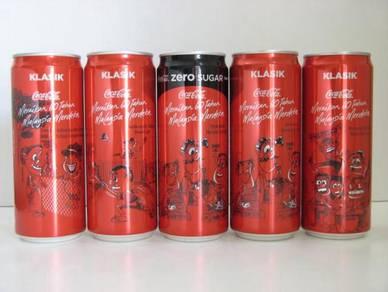 Coke Coca-Cola Malaysia Merdeka 60 Years Can