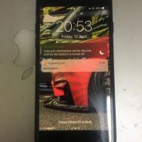 (Used) iphone 7 128gb jetblack myset