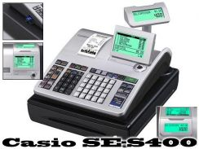 Cashier Machine Casio SE-S400 Mesin kira
