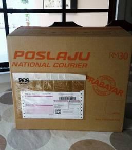 Kotak Prabayar Poslaju (10kg)