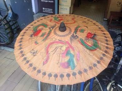 Antique umbrella