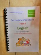 ICGSE Cambridge English Past Year Secondary Paper