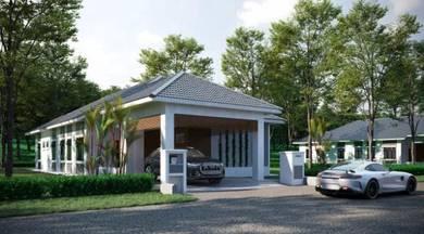Gated & Guarded New Single Storey Bungalow House Ayer Keroh Melaka